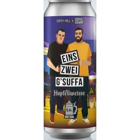 Gipsy Hill Brewing Co Eins, Zwei, G'Suffa - Hopfenweisse – Buy Beer online on EeBriaTrade.com