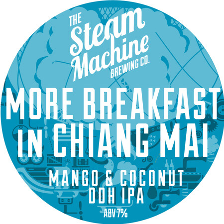 Steam Machine Brewing Co More Breakfast in Chiang Mai (Pre-Order) – Buy Beer online on EeBriaTrade.com