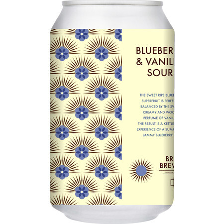Brick Brewery Blueberry & Vanilla Sour – Buy Beer online on EeBriaTrade.com