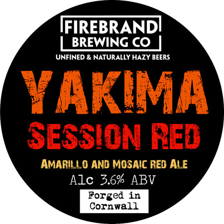 Firebrand Brewing Yakima Red Session IPA  – Buy Beer online on EeBriaTrade.com