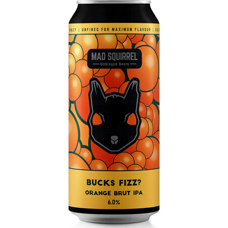 Mad Squirrel Bucks Fizz Brut IPA  – Buy Beer online on EeBriaTrade.com