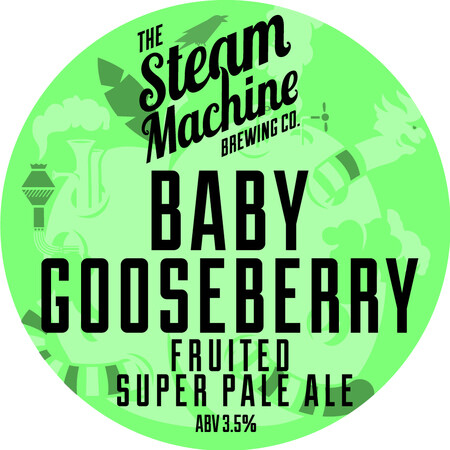 Steam Machine Brewing Co Baby Gooseberry Super Pale (Pre-Order) – Buy Beer online on EeBriaTrade.com