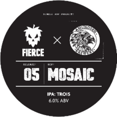 Fierce Beer Single Hop Project: 05 Mosaic Fierce x Amundsen – Buy Beer online on EeBriaTrade.com