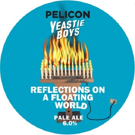 Yeastie Boys UK Reflections On A Floating World (Pelicon Collab) – Buy Beer online on EeBriaTrade.com