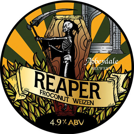 Abbeydale Brewery Reaper - Froconut Weizen – Buy Beer online on EeBriaTrade.com