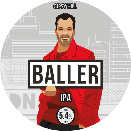 Gipsy Hill Brewing Co Baller - IPA – Buy Beer online on EeBriaTrade.com