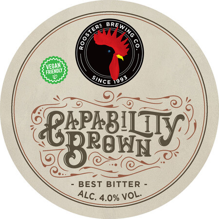 Rooster's Brewing Co. Capability Brown – Buy Beer online on EeBriaTrade.com