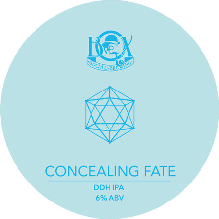 Box Social Brewing Concealing Fate – Buy Beer online on EeBriaTrade.com
