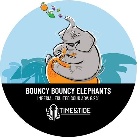 Time and Tide Brewing Bouncy Bouncy Elephants  – Buy Beer online on EeBriaTrade.com