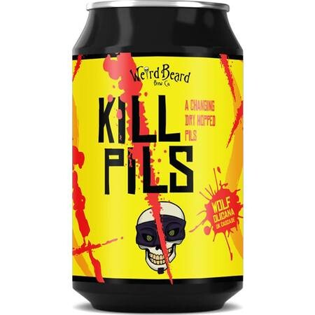 Weird Beard Brew Co Kill Pils (Cans) – Buy Beer online on EeBriaTrade.com