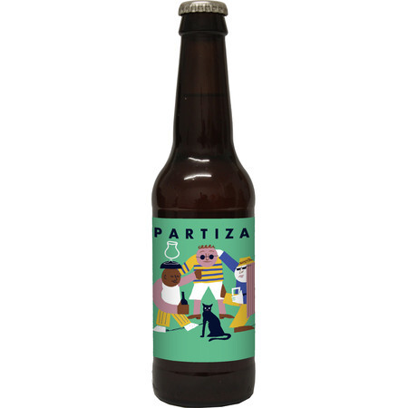 Partizan Brewing Hoodoo Saison – Buy Beer online on EeBriaTrade.com