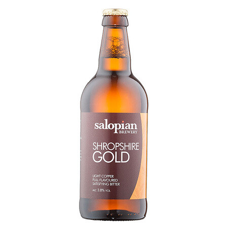 Salopian Brewery Shropshire Gold – Buy Beer online on EeBriaTrade.com