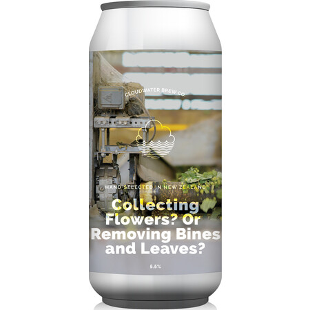 Cloudwater Brew Co Collecting Flowers? Or Removing Bines and Leaves? (737b) (CANS) – Buy Beer online on EeBriaTrade.com