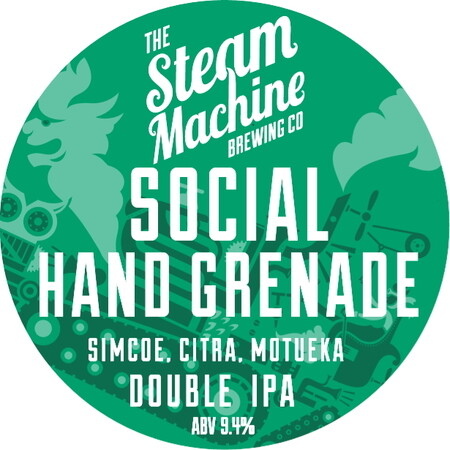 Steam Machine Brewing Co Social Hand Grenade  – Buy Beer online on EeBriaTrade.com