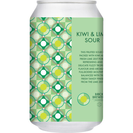 Brick Brewery Kiwi and Lime Sour  – Buy Beer online on EeBriaTrade.com