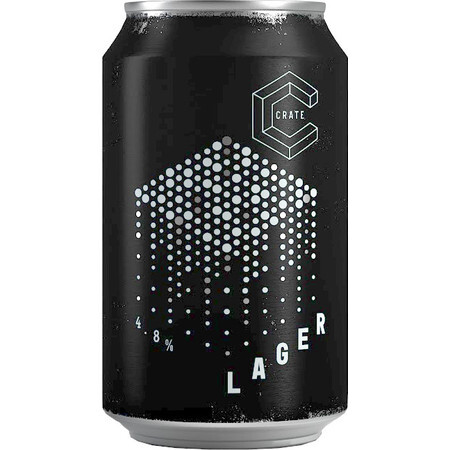 CRATE Brewery CRATE Lager (BBE 31.1.20)  – Buy Beer online on EeBriaTrade.com