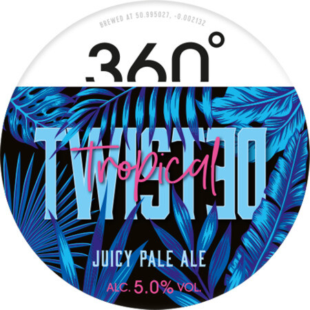 360 Degree Brewing Twisted Tropical  – Buy Beer online on EeBriaTrade.com