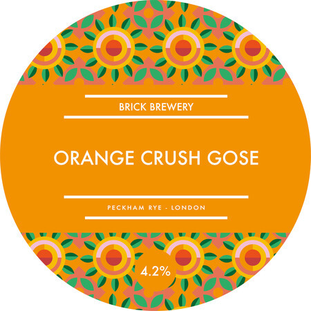 Brick Brewery Orange Crush Gose – Buy Beer online on EeBriaTrade.com