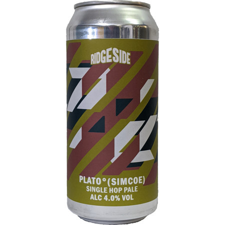 Ridgeside Brewing Co PLATO (Simcoe) – Buy Beer online on EeBriaTrade.com
