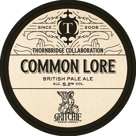 Thornbridge Brewery Common Lore  – Buy Beer online on EeBriaTrade.com