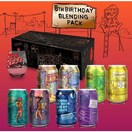 Tiny Rebel Brewing Tiny Rebel 8th Birthday Blending Box (x2) (Pre-Order) – Buy Beer online on EeBriaTrade.com