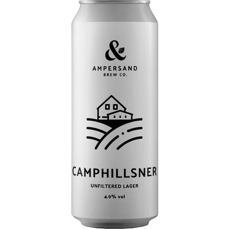 Ampersand Brew Co Camphillsner - Unfiltered Lager – Buy Beer online on EeBriaTrade.com