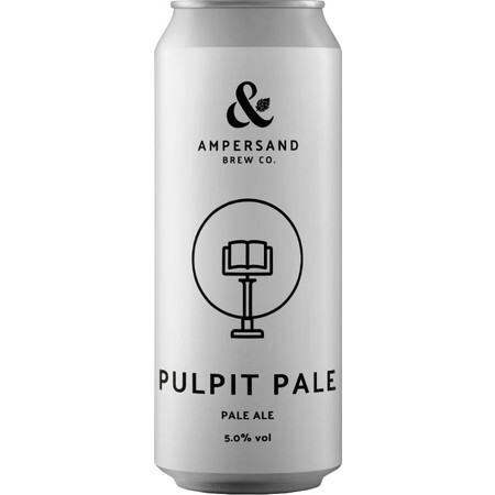 Ampersand Brew Co Pulpit Pale - Pale Ale – Buy Beer online on EeBriaTrade.com
