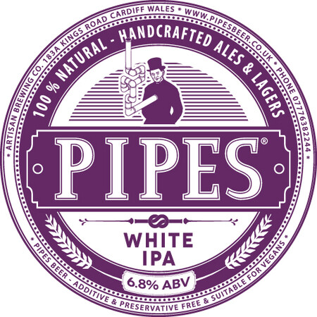 Pipes Brewery White IPA – Buy Beer online on EeBriaTrade.com