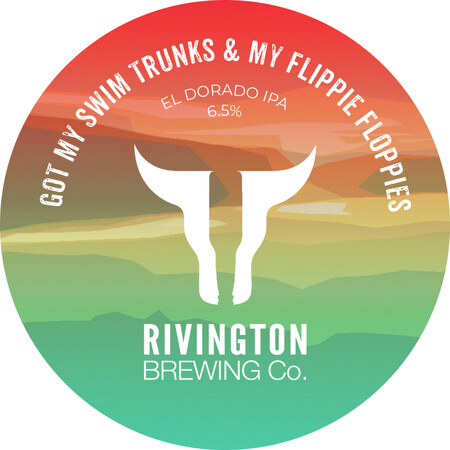 Rivington Brewing I Got My Swim Trunks & My Flippie Floppies – Buy Beer online on EeBriaTrade.com
