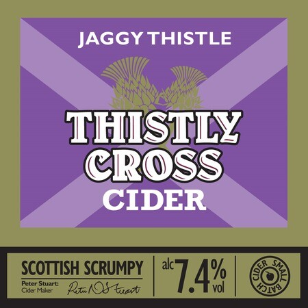 Thistly Cross Cider Jaggy Thistly 7.4% - 20L – Buy Cider online on EeBriaTrade.com