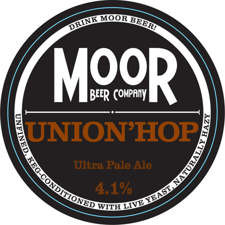 Moor Beer Company Union'Hop – Buy Beer online on EeBriaTrade.com
