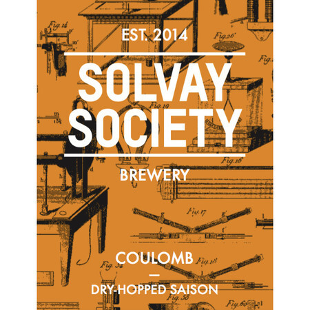Solvay Society Coulomb – Buy Beer online on EeBriaTrade.com