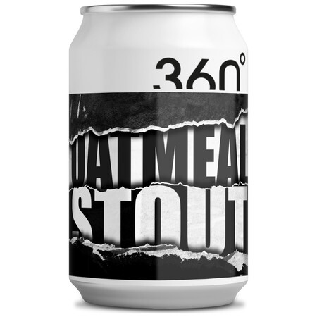 360 Degree Brewing Oatmeal Stout – Buy Beer online on EeBriaTrade.com