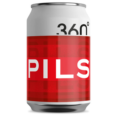 360 Degree Brewing Pilsner – Buy Beer online on EeBriaTrade.com