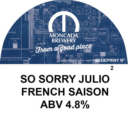 Buy moncada brewery so sorry julio saison blueprint no 2 5750 moncada brewery so sorry julio saison blueprint no 2 buy beer online malvernweather Choice Image