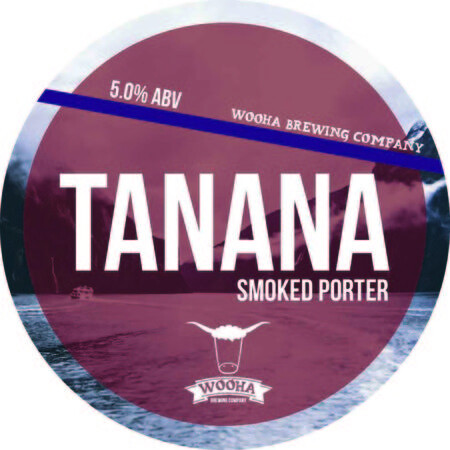 WooHa Brewing Company Tanana Smoked Porter – Buy Beer online on EeBriaTrade.com
