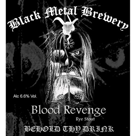Black Metal Brewery Blood Revenge – Buy Beer online on EeBriaTrade.com