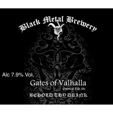 Black Metal Brewery Gates of Valhalla – Buy Beer online on EeBriaTrade.com