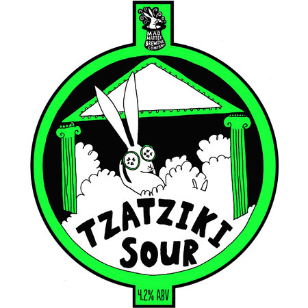 Mad Hatter Brewing Company Tzatziki Sour – Buy Beer online on EeBriaTrade.com