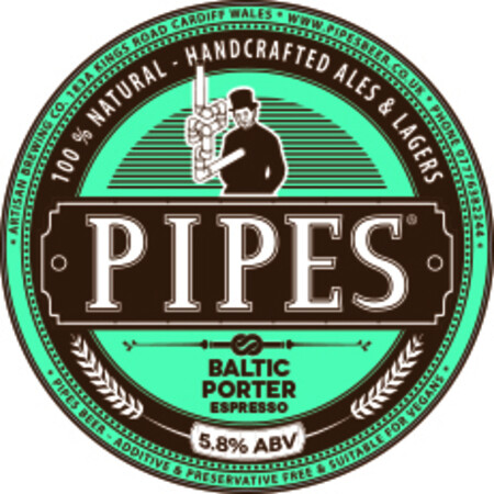 Pipes Brewery Baltic Porter Espresso – Buy Beer online on EeBriaTrade.com