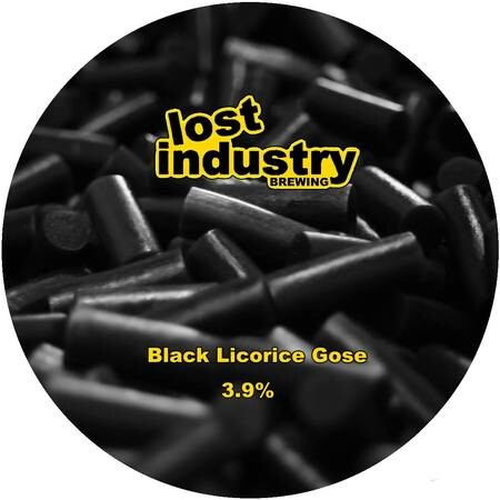 Lost Industry Brewing Black Licorice Gose – Buy Beer online on EeBria.com