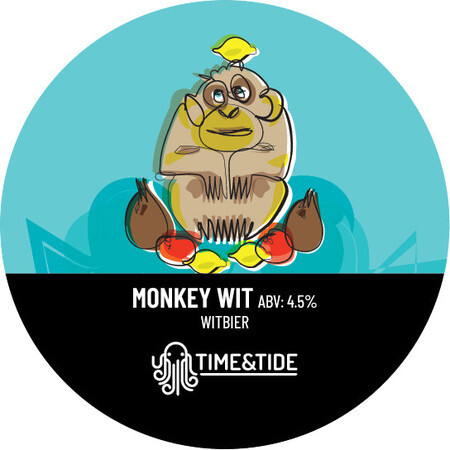 Time and Tide Brewing Monkey Wit  – Buy Beer online on EeBriaTrade.com