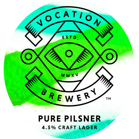 Vocation Brewery Pure Pilsner (30l Eco Keg) – Buy Beer online on EeBriaTrade.com