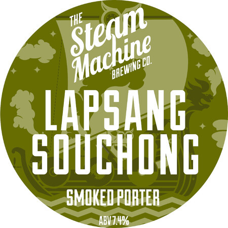 Steam Machine Brewing Co Lapsang Souchong Smoked Porter – Buy Beer online on EeBriaTrade.com