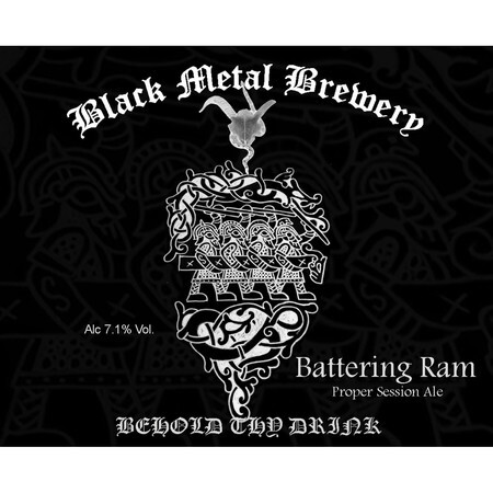 Black Metal Brewery Battering Ram – Buy Beer online on EeBriaTrade.com