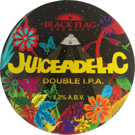 Black Flag Brewery Juiceadelic Double I.P.A. – Buy Beer online on EeBriaTrade.com