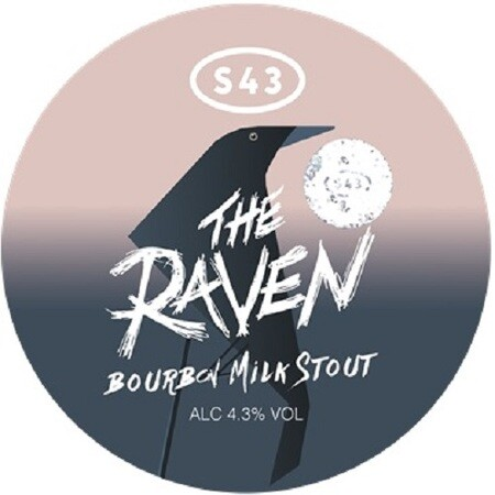 S43 Brewery Raven Bourbon Milk Stout – Buy Beer online on EeBriaTrade.com