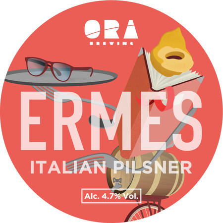 ORA Brewing Company Ermes Italian Pilsner – Buy Beer online on EeBriaTrade.com