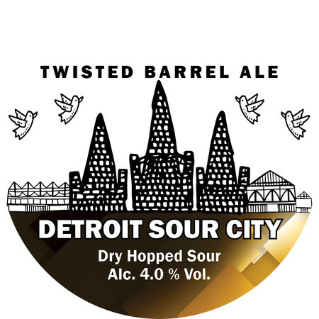 Twisted Barrel Detroit Sour City – Buy Beer online on EeBriaTrade.com