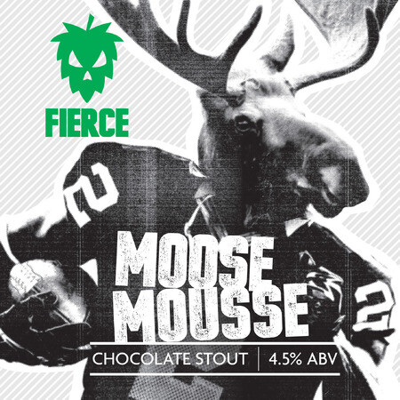 Fierce Beer Moose Mousse – Buy Beer online on EeBriaTrade.com
